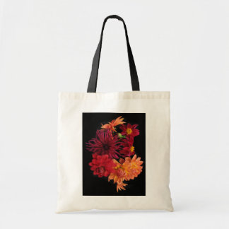Dahlias Tote Bags