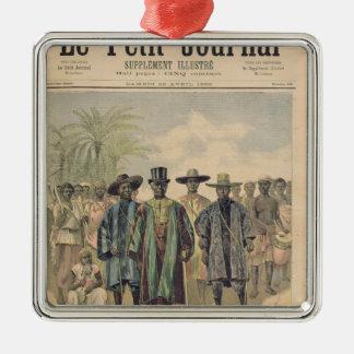 Dahomeans on the Champs de Mars Ornament