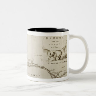 Dahomey and its Environs, from 'The History of Dah Two-Tone Coffee Mug