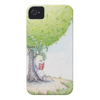 Dai-kun chill'n under a tree iPhone 4 cover
