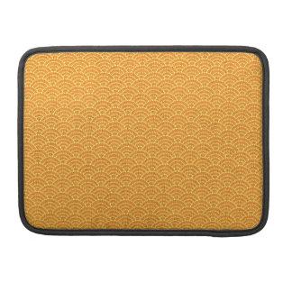 DAIDAI - Japanese tabi-style Sleeve flap orange co Sleeve For MacBooks