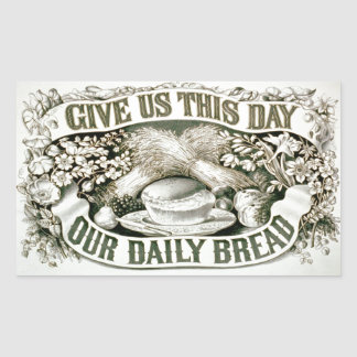 Daily Bread Vintage Custom Sticker