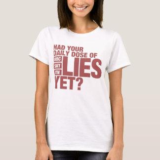 Daily Dose of Lies (UK Media) T-Shirt