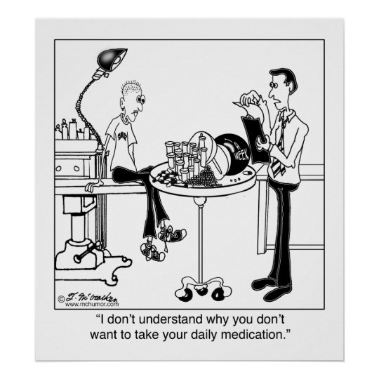 Daily Medication Is Size Of A Bowling Ball