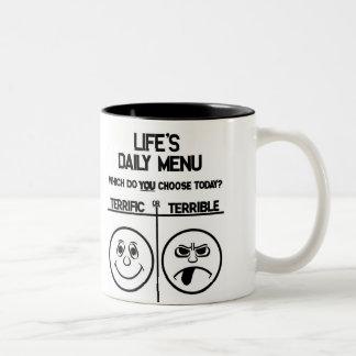 Daily Menu Mug