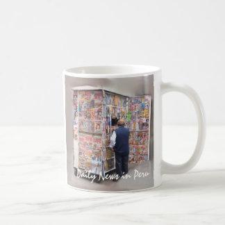 Daily News in Peru - Customizable Text Coffee Mug