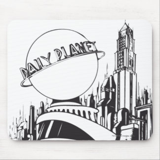 Daily Planet Mouse Pads