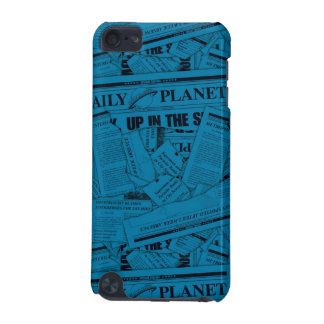 Daily Planet Pattern - Blue iPod Touch 5G Case