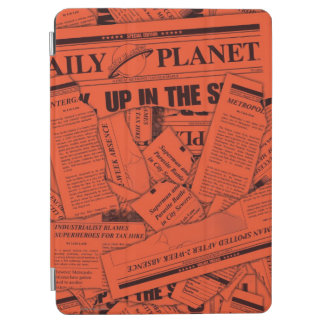 Daily Planet Pattern - Red iPad Air Cover