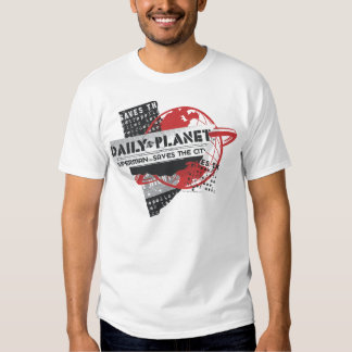 Daily Planet - Saves the City Tee Shirts