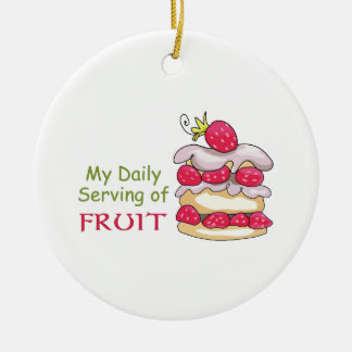 Daily Serving Of Fruit Ornaments