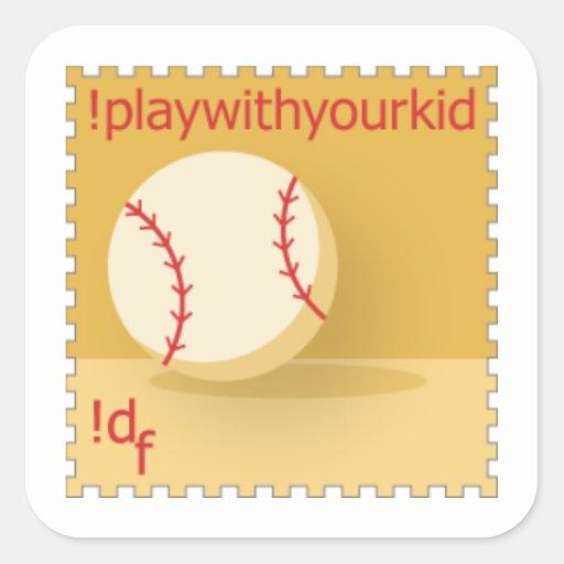 DailyFeats !playwithyourkid Stickers