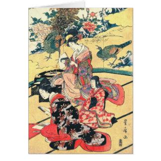 Daimyo Mansion 1801 Greeting Card