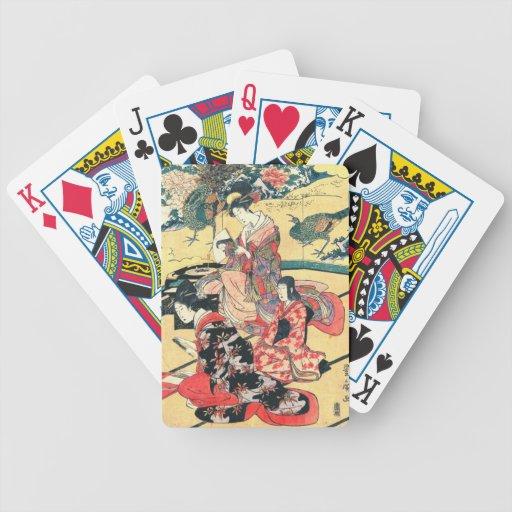 Daimyo Mansion 1801 Deck Of Cards