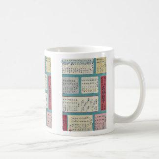 Dainihon rokuju yoshu meisho zue  mokuroku Ukiyoe Coffee Mug