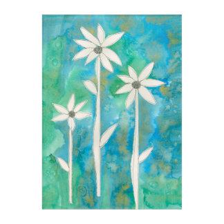 Dainty Daisies I Acrylic Print
