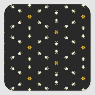 Dainty Floral Pattern Stickers
