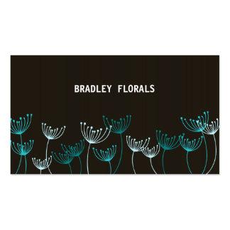 Dainty Garden Blue Business Card
