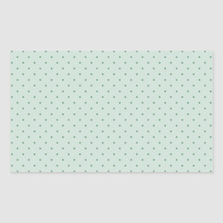 Dainty Green Polka Dots Pattern on a Lighter Green Stickers