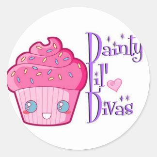 Dainty Lil' Divas Stickers