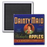 Dainty Maid Blue Fridge Magnet