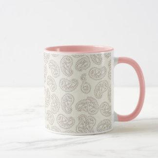 Dainty Paisley Design Coffee Mug