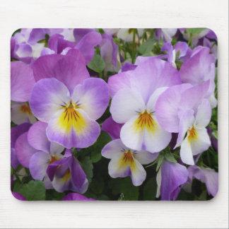 Dainty Violas Mousepads