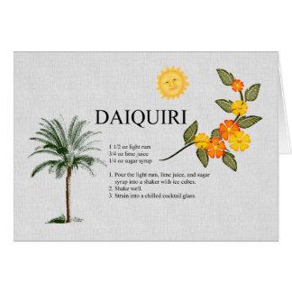 Daiquiri Greeting Card