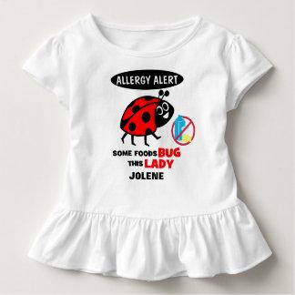 Dairy Allergy Alert Ladybug Shirt