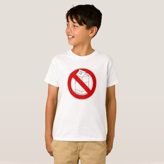 Dairy Allergy and Lactose Intolerance Tee Shirt
