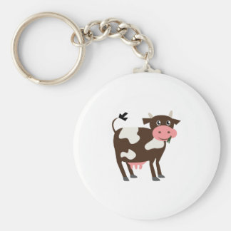 Dairy Cow Key Chains