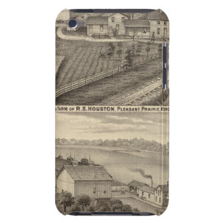 Dairy farms of RS Houston and WC White iPod Touch Case-Mate Case