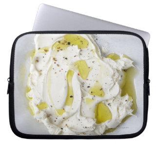 Dairy, Food, Food And Drink, Mascarpone, Cheese Laptop Sleeve