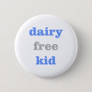 dairy free milk allergy button for kids baby boy