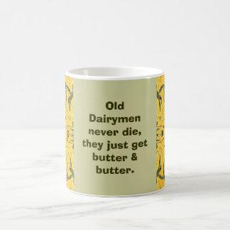 dairy men joke basic white mug