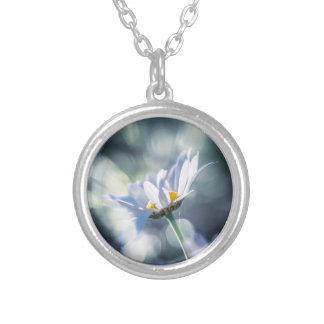 Daisies and bokeh II Custom Necklace