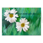 Daisies Angel Mother  Card