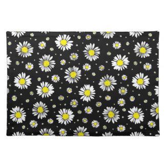 Daisies - Black Placemat