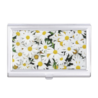 Daisies Business Card Case
