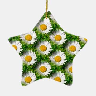 Daisies Christmas Ornament