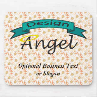 Daisies Custom Logo Branded Mouse Pad