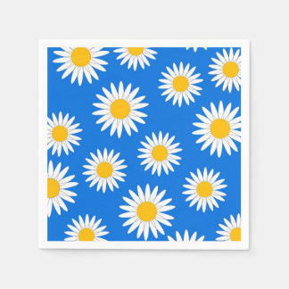 DAISIES DISPOSABLE NAPKIN