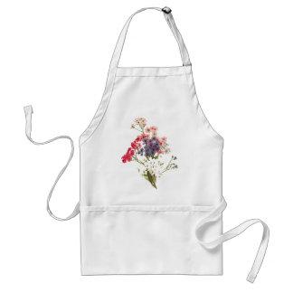 Daisies Floral Botanical Flowers Apron