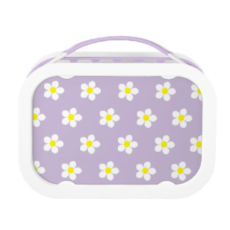 Daisies I Purple yubo Lunch Box (Customize it)