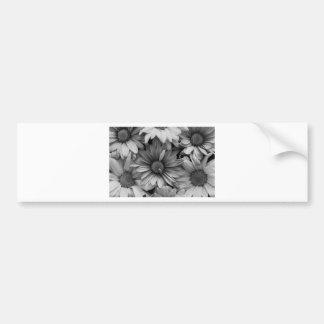 Daisies in Macro Bumper Sticker