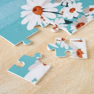 Daisies in the Breeze Jigsaw Puzzle