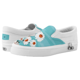 Daisies in the Breeze Slip On Shoes