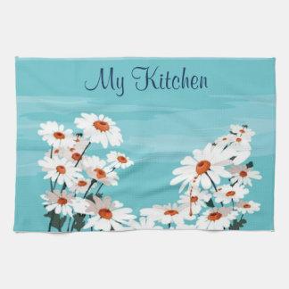 Daisies in the Breeze Tea Towel