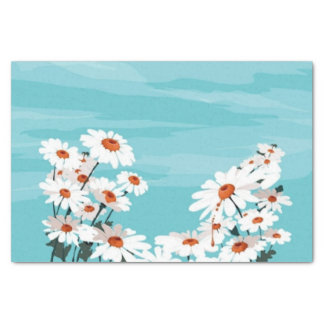 Daisies in the Breeze Tissue Paper