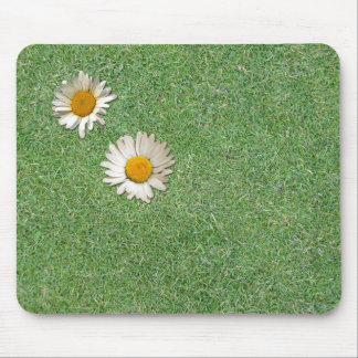 Daisies in the Grass Mouse Pad